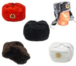 Russian Winter Hat SHAPKA-USHANKA from US location 2-4 days
