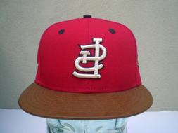 St. Louis Cardinals New Era Men's Leather Banner 59Fifty Fit