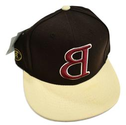 """Stall & Dean Licensed """"B"""" Rucker Fitted Hat Pick Size"""