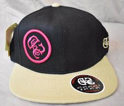 Stall & Dean Licensed Black/Tan/Fuscia Fitted Hat Pick Size