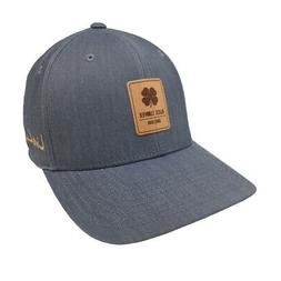 Black Clover Suede Luck Fitted Hat