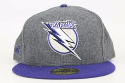 Tampa Bay Lightning Melton Gray / Blue Lid NHL New Era 59Fif