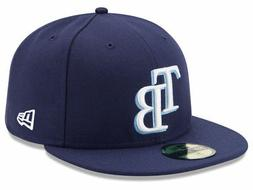 New Era Tampa Bay Rays GAME 59Fifty Fitted Hat  MLB Cap