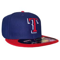 Texas Rangers TEX MLB Authentic New Era 59FIFTY Fitted Cap -