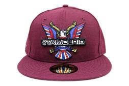 The Diplomats 90s Hip Hop Dipset Maroon Big Bird New Era 59F
