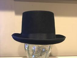 Top Hat BLACK Killer Hats Brand   7 1/2  60  XL Fitted 5""