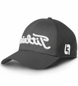 Titleist Tour Sport Mesh Legacy Fitted Golf Hat Cap Charcoal