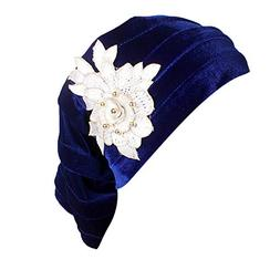 TWGONE Turbans for Women India Muslim Stretch Cotton Floral