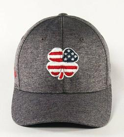 BLACK CLOVER USA Heather Men's Cap Hat Fitted NEW