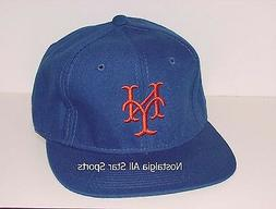 Vintage 90's NY METS SPORTS SPECIALTIES Fitted HAT BLUE NWOT