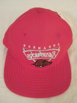 Vintage Arkansas Razorbacks Fitted Hat Size 7 New With Tags