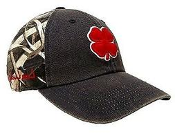 Black Clover Vintage Hunt Lucky  Hat Size ADJ Red/Stone/Navy