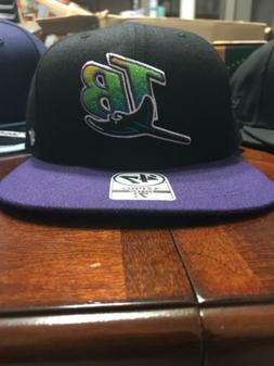 VINTAGE TAMPA BAY DEVIL RAYS COOPERSTOWN COLLECTION FITTED H