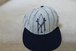 American Needle Vintage Used NY Yankees Fitted Hat 7 1/4 Coo