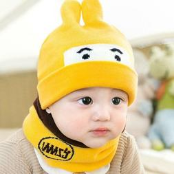 Winter Autumn Kids Hat For Children's Unisex Acrylic Fitted