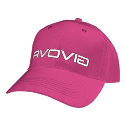 GIVOVA Women visor hat accessories fuchsia sport 100% cotton