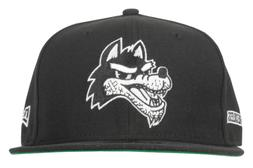 YOUNG AND RECKLESS WOLF NEW ERA FITTED HAT 59FIFTY SKATEWEAR